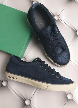 Seavees оригинал кеды сникерсы кроссовки синие замшевые бренд ...