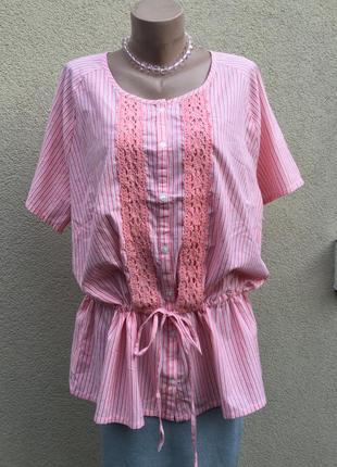 Блуза реглан,рубаха с кружевом,этно,бохо,деревенский стиль,хло...