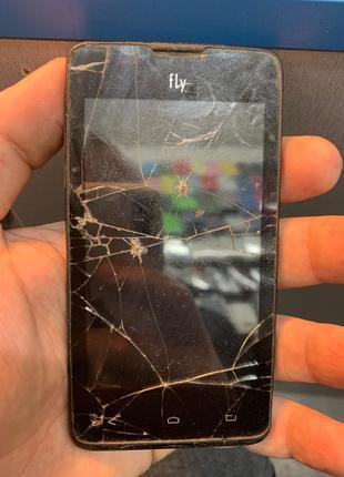 Мобильный телефон Fly iq449 под ремонт или на запчасти