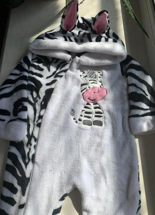 Комбинезон зебра