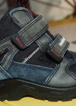 Ecco gore tex зимние ботинки 24 размер