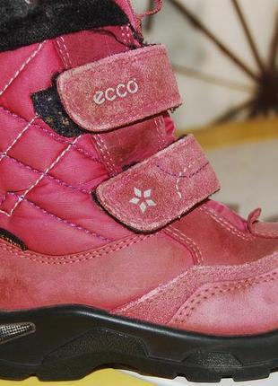 Ecco gore tex зимние ботинки 28 размер