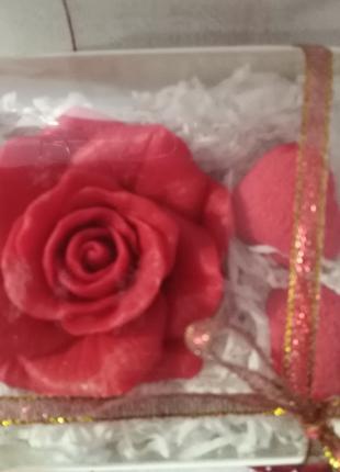 Подарочный набор из мыла ручной