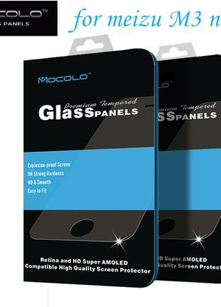 Защитное стекло Mocolo 0.33mm 2.5d Meizu M3 Note Узкое