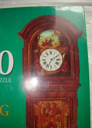 Пазл-набор для творчества: Старинные напольные часы из Америки