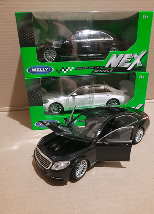 Машина Welly Mercedes Benz S-CLASS масштаб 1:24