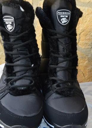 Зимние ботинки на шнурках 36,37,38,39,40,41 размер