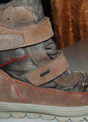 Зимние ботинки  superfit 34 размер