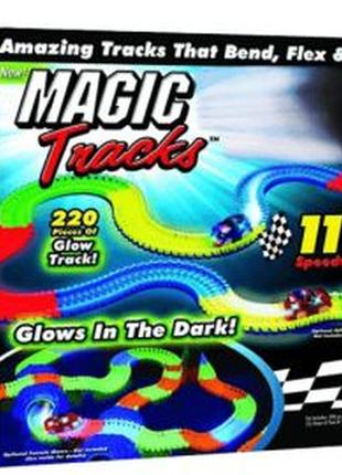 Гоночный светящийся автотрек Magic Tracks