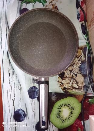 Сковорода с гранитным покрытием Tescoma i-PREMIUM Stone 30 см
