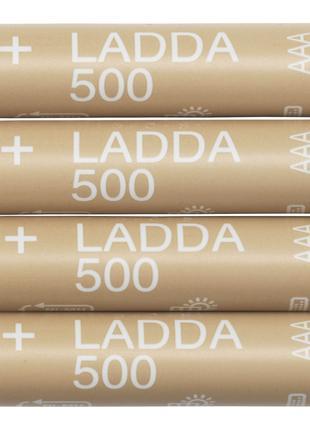 Акумуляторна батарея, HR03 AAA 1.2V LADDA