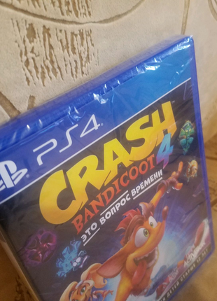 Crush bandicoot 4 ps4 Русская версия
