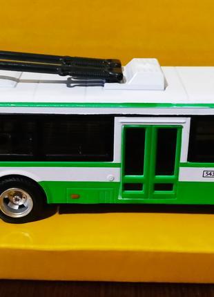 Троллейбус металлический арт. 6407