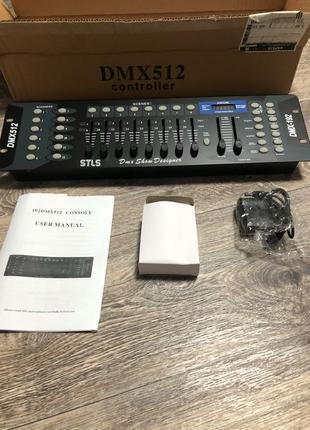 Продам DMX пульт STLS DMX-1 / световой пульт/ расческа