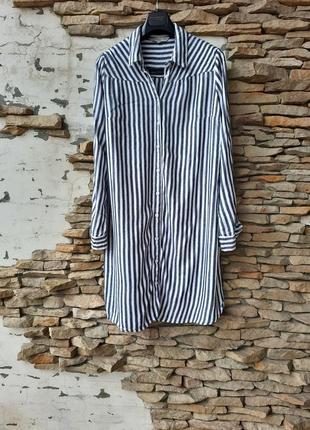 Стильное  платье 👗, удлинённая рубашка, туника большого размера