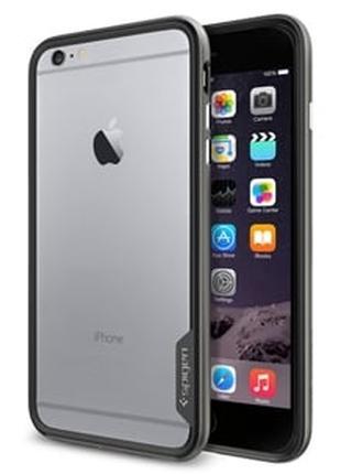 Бампер Neo Hybrid EX Gunmetal Серый для iPhone 6 Plus