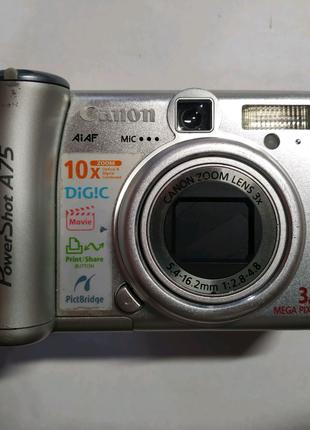 Цифровой фотоаппарат Canon A75