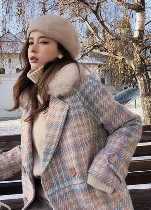 Пальто шерстяное! куртка