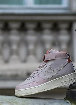 Nike air force 1 high utility pink