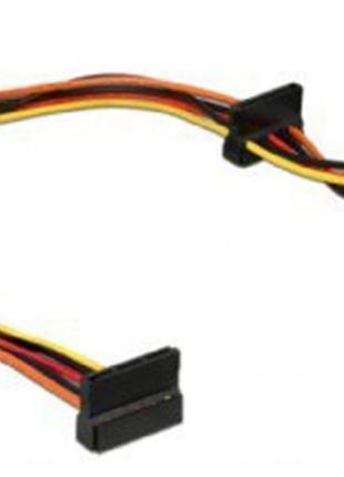 Кабель удлинитель питания 4 устройства Cablexpert SATA 0.4 м