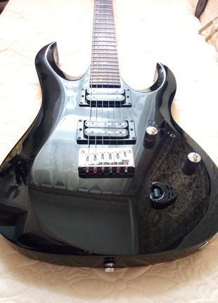 Электрогитара Cort X3 black, состояние - идеальное!