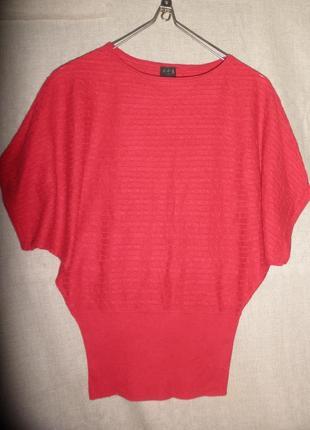 Чудесный свободный джемпер пуловер кофточка в косы un1deux2tro...