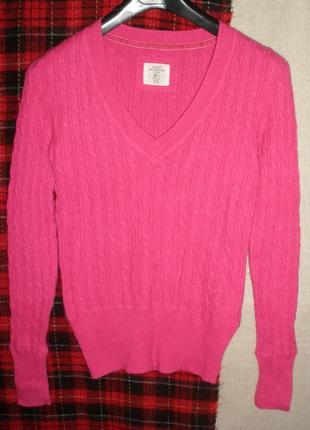 Комфортный приятный джемпер пуловер свитер ангора шерсть виско...
