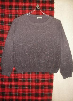 Комфортный нежный ангора 56% джемпер свите пуловер whistles  г...