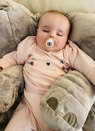Комплект костюм пижамка пижама 6-9мес george next h&m
