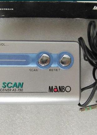 Радиоприемник FM, AS-730, цифровой, наушники, новый
