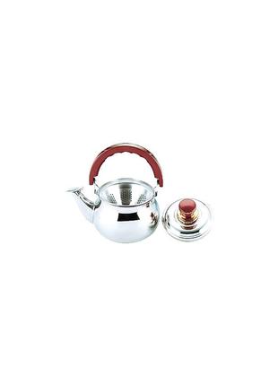 Чайник нержавеющий Empire - 1,1 л, с заварником