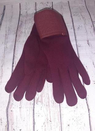 Перчатки женские на меху