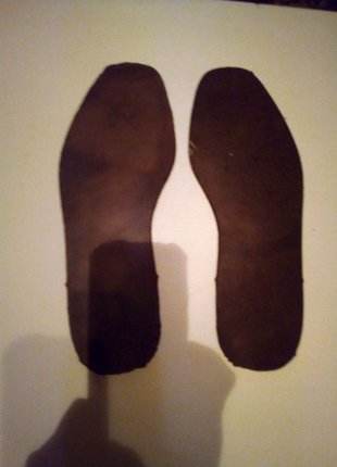 Натуральная кожа 5 мм встельки подошва каблуки