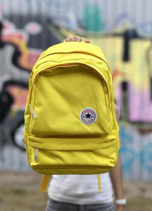 💛converse all star yellow backpack💛рюкзак конверс олл стар 16 л