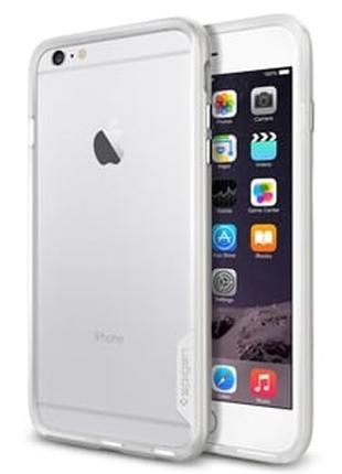 Бампер Neo Hybrid EX Satin Silver Серебро для iPhone 6 Plus