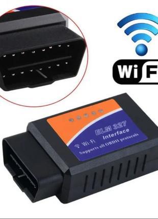 Автосканер ELM327 WiFi диагностический адаптер для автомобиля IOS