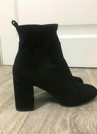 Ботинки черные Bershka 36