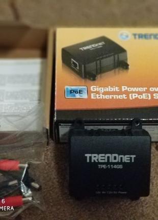 Гигабитный PoE-сплиттер TPE-114GS
