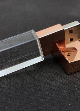 USB флеш-накопитель Pink кристалл 32 GB (розовая)
