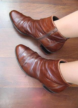 Итальянские супер мягкие кожаные ботиночки бренда everybody, д...