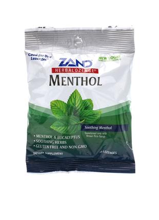 Ментол,травяные леденцы, успокаивающий ментол,15 леденцов