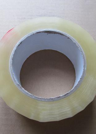 Скотч упаковочный, прозрачный 200 м