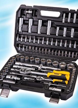 Набор инструментов, головок, бит, трещотка 94 ед 78-5094 Premium