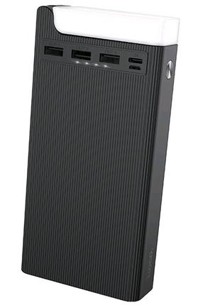 Портативное зарядное устройство Power Bank Hoco J62 Jove 30000 mA