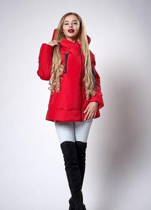 Женская молодежная демисезонная куртка. Код модели К-123-38-18