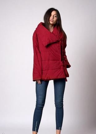 Женская молодежная демисезонная куртка - одеяло. Код модели К-...