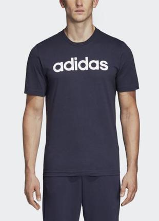 Футболка оригинал, Adidas ESSENTIALS LINEAR LOGODU0406