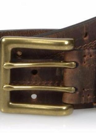 Ремень мужской кожаный carhartt double perforated оригинал из сша