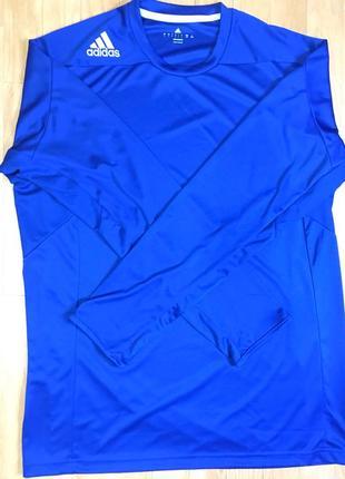 Мужская спортивная футболка-с длинным рукавом, Adidas D84390