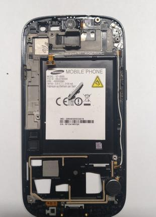 Samsung S3 I9300 рамка, динамик, каоксиальный, шлейф, кнопки